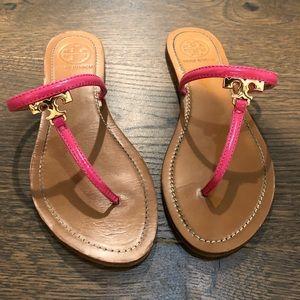 Pink Tory Burch Sandals